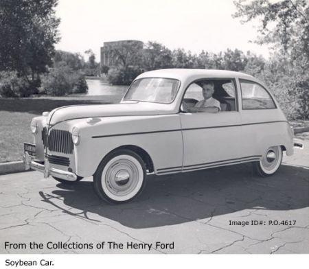 «Соевый автомобиль» Генри Форда