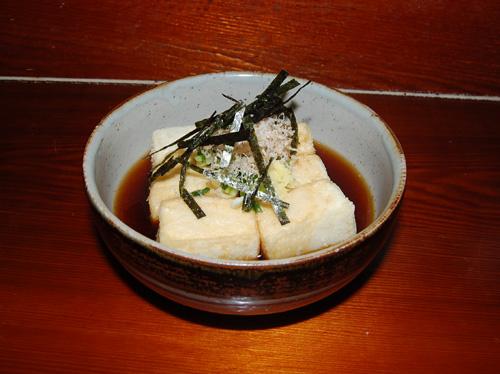 Агедаcи дофу – жареный тофу